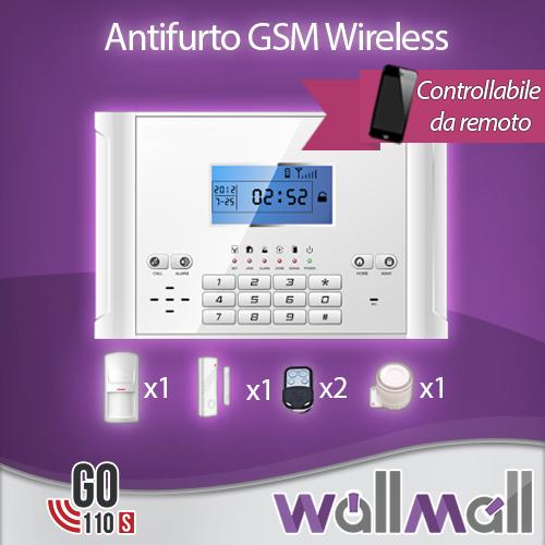 Antifurto allarme casa kit combinatore gsm wireless pir - Antifurto casa wireless ...
