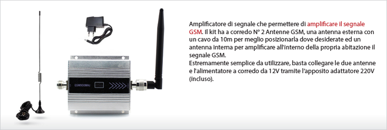 Amplificatore GSM