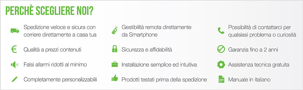 Antifurto GSM Wireless