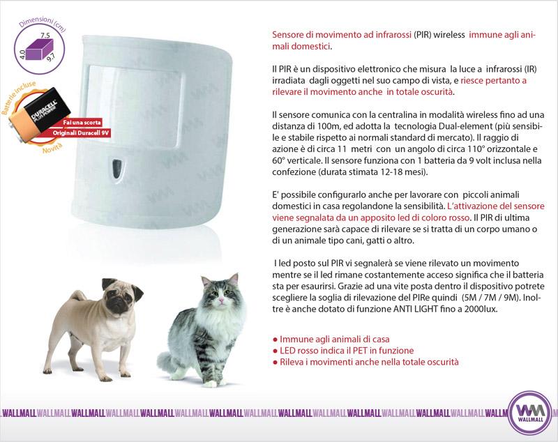 Sensore Pet