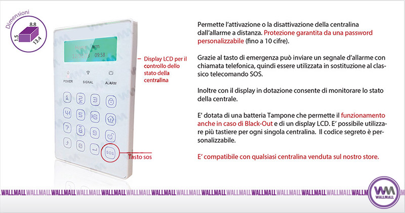 Tastiera wireless